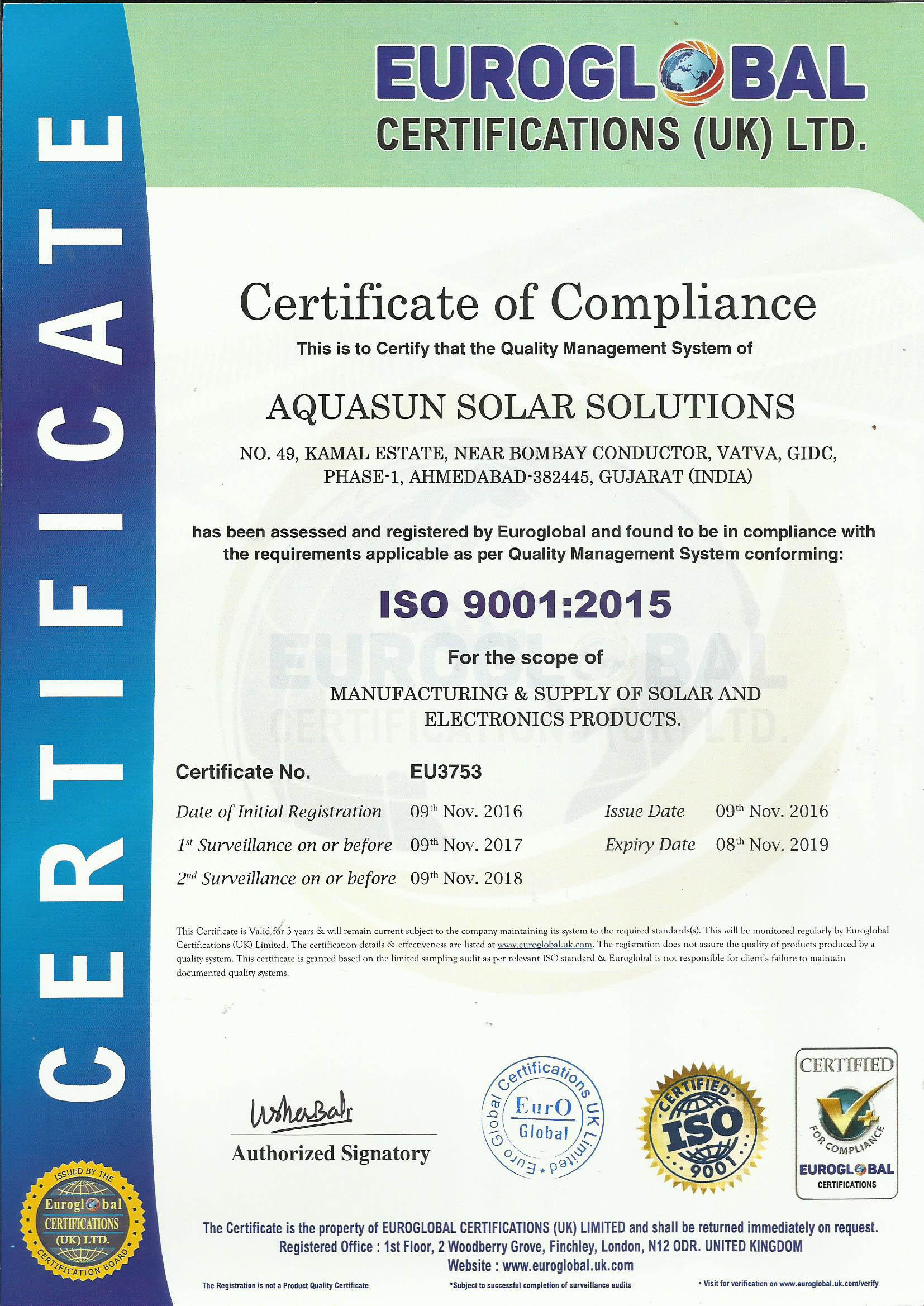 Aqua Sun Solar Solutions About